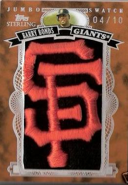 Barry Bonds Jumbo Swatch1