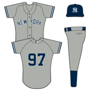 Yankees Road Uniform