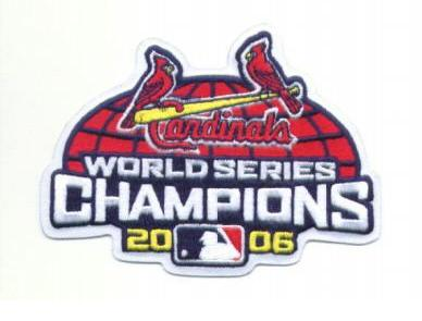 Cardinals World Series Patch