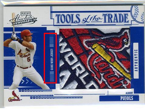 Albert Pujols Fake Patch