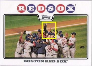 2008 Topps Red Sox w/Rudy Giuliani