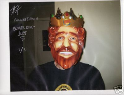 Burger King Autograph