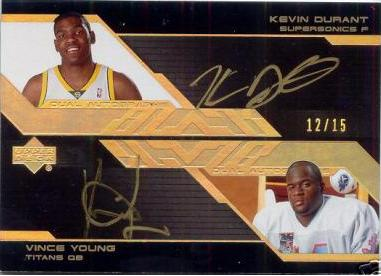 Kevin Durant Vince Young Dual