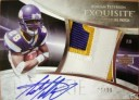 2007 Exquisite Rookie Signature Patch Tier 2
